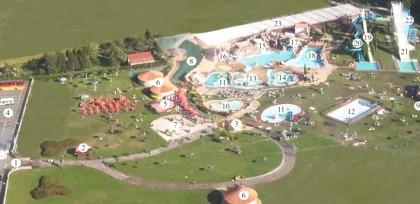 Mapa Aquapark Cerceda