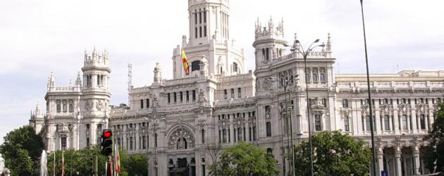 Mapa de Madrid, España