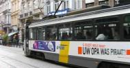 Mapa del tranvía en Gante (Gent)