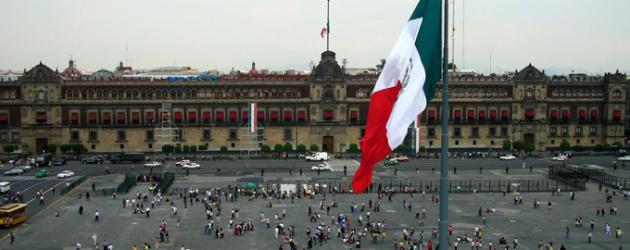 El Zocalo de Mexico DF
